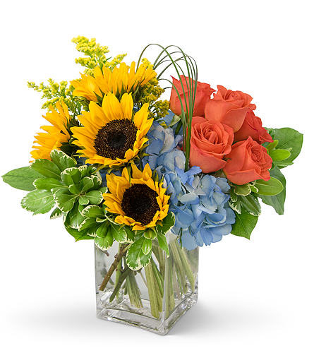 Fun in the Sun in Mount Morris MI, June's Floral Company & Fruit Bouquets