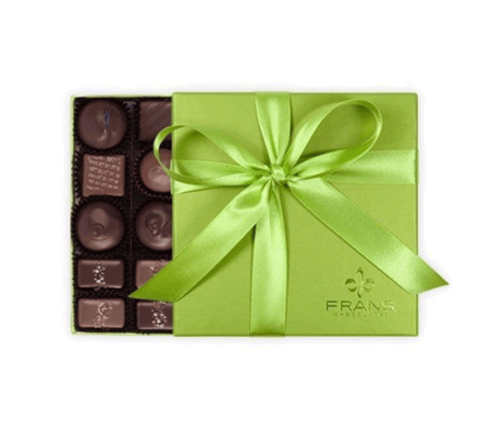 Frans Chocolates Salted Caramels  in Bellevue WA, CITY FLOWERS, INC.