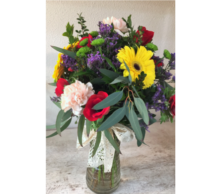 Cheerful Smile in Arcata CA, Country Living Florist & Fine Gifts