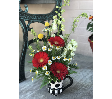 Rise and Shine in Creedmoor NC, Gil-Man Florist Inc.