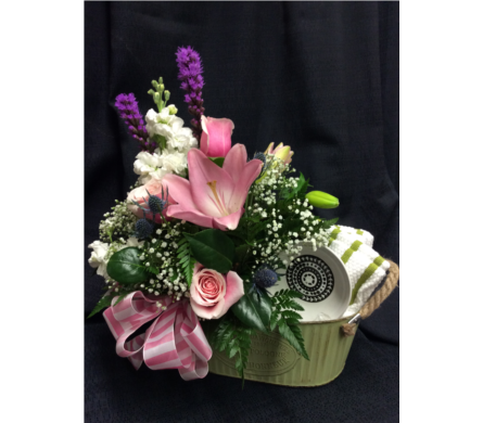 Mother�s Day Basket  in Dawson Creek BC, Flowers By Charene