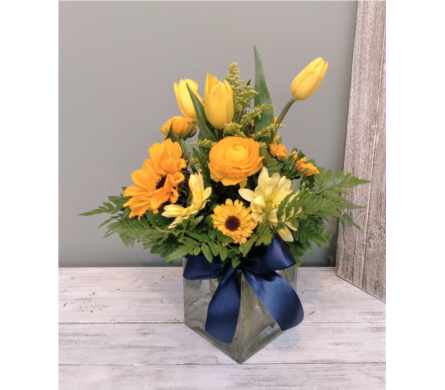 Sunshine Bouquet  in San Jose CA, Rosies & Posies Downtown