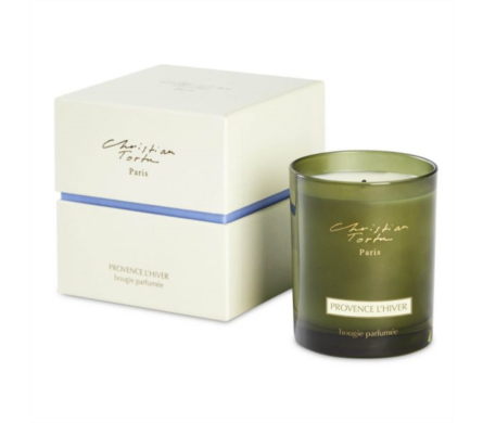 Christian Tortu Candle Provence l'hiver  in Little Rock AR, Tipton & Hurst, Inc.