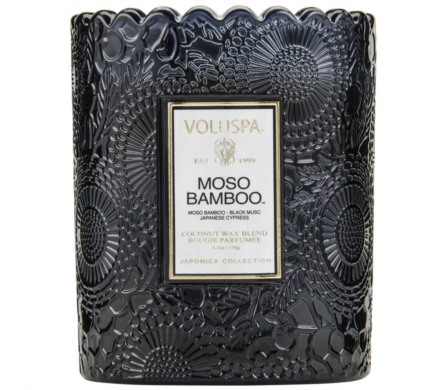 Voluspa Moso Bamboo Candle in Little Rock AR, Tipton & Hurst, Inc.
