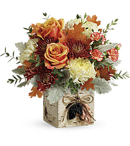 Teleflora's Fall In Bloom Bouquet in Oklahoma City OK, Capitol Hill Florist and Gifts