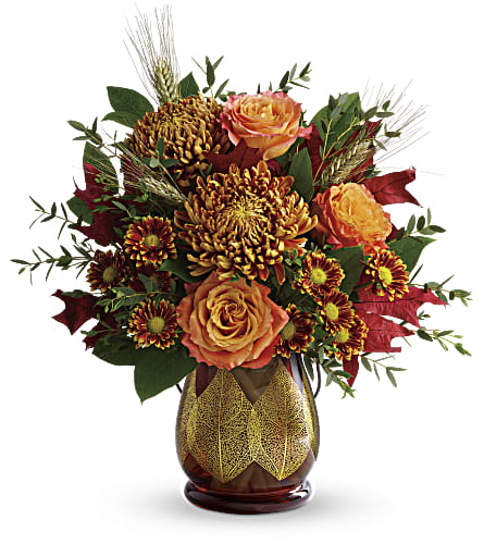 Teleflora's Fields Of Amber Bouquet in Courtenay BC, 5th Street Florist