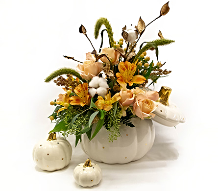 Autumn Bliss in Amherst NY, The Trillium's Courtyard Florist