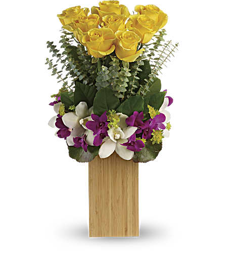 Teleflora's Burst Of Sunshine Bouquet in Los Angeles CA, RTI Tech Lab