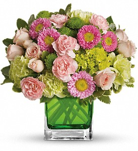 Make Her Day by Teleflora in McHenry IL, Locker's Flowers, Greenhouse & Gifts