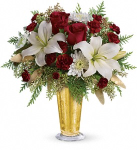 Golden Gifts by Teleflora in Vancouver BC, Davie Flowers