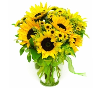 Summer Sunflowers  in Little Rock AR, Tipton & Hurst, Inc.