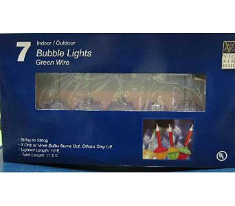 7 Indoor/Outdoor Bubble Lights in San Antonio TX, Best Wholesale Christmas Co