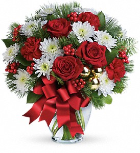 Merry Beautiful Bouquet in Shelton CT, Langanke's Florist, Inc.