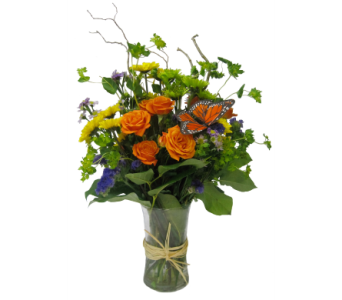 Untamed Wildflower Bouquet by Country Greenery in Moorhead MN, Country Greenery