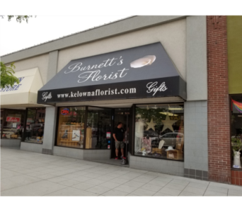 Store Photo in Kelowna BC, Burnetts Florist & Gifts
