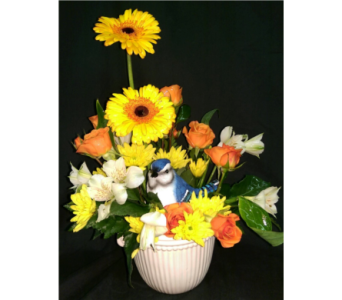 M & W Flower Shop's Happy Thoughts Bouquet in Chatham VA, M & W Flower Shop