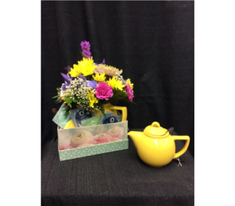 Tea party in Dawson Creek BC, Flowers By Charene