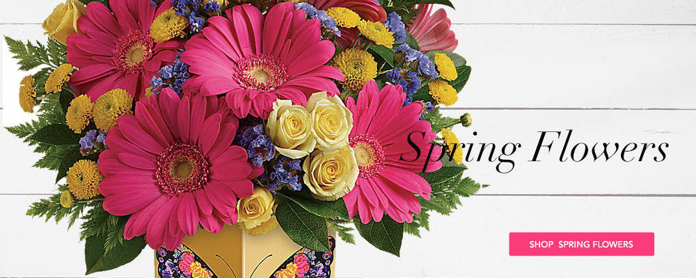 Send Spring Flowers to Chatham, VA with M & W Flower Shop, your florists