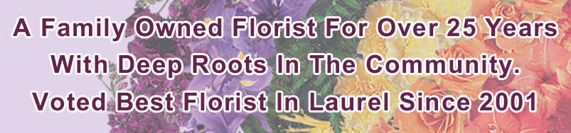 Send Flowers to Laurel, MD with Rainbow Florist & Delectables, Inc., your local Laurel florist