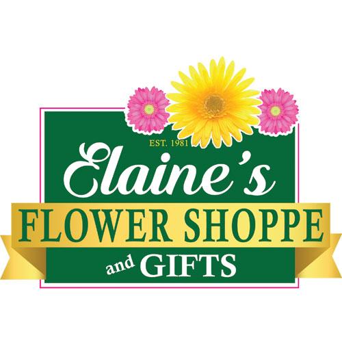 Elaine's Flower Shoppe logo