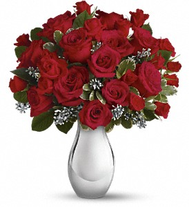 Teleflora's Winter Grace Bouquet in Columbus OH, Sawmill Florist