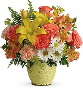 Teleflora's Clear Morning Bouquet in Corpus Christi TX, Always In Bloom Florist Gifts