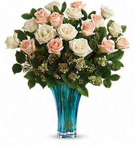 Teleflora's Ocean Of Roses Bouquet in Jonesboro AR, Posey Peddler