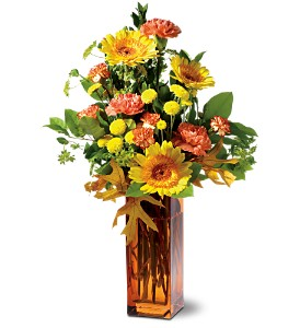 Teleflora's Autumn Fireworks in Butte MT, Wilhelm Flower Shoppe