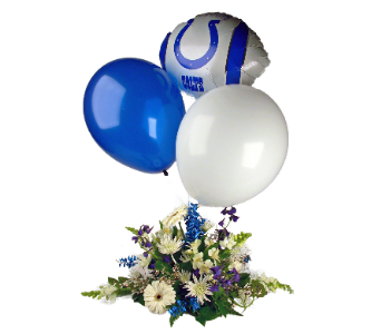 Colts Centerpiece in Indianapolis IN, McNamara Florist