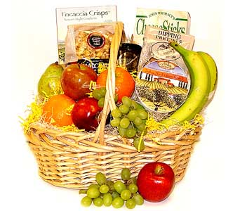 Gourmet Fruit Basket in Raritan NJ, Angelone's Florist - 800-723-5078