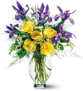Teleflora's Clear Inspiration Bouquet, flowershopping.com