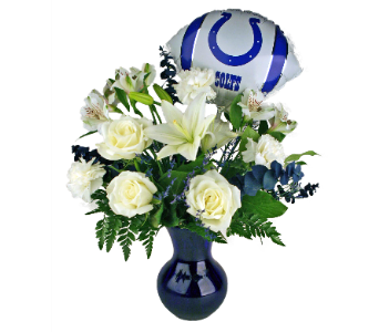 Good Luck Blue in Indianapolis IN, McNamara Florist