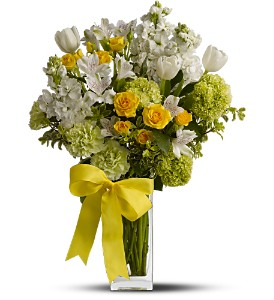 Teleflora's Spring for Joy in El Cajon CA, Jasmine Creek Florist