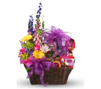 Gourmet, Fruit & Flower Basket in McLean VA, MyFlorist