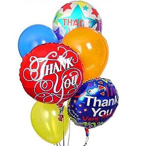 Thank You Balloons in Perrysburg & Toledo OH  OH, Ken's Flower Shops