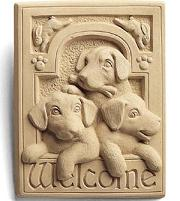 Welcome Puppies Plaque in Perrysburg & Toledo OH  OH, Ken's Flower Shops