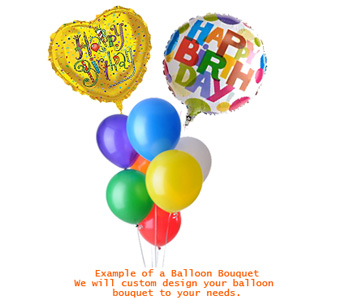 Mylar and Latex Balloon Bouquets in Calgary AB, All Flowers and Gifts