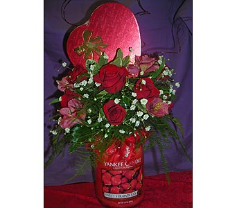 Yankee Candle (Valentine) in Johnstown PA, B & B Floral