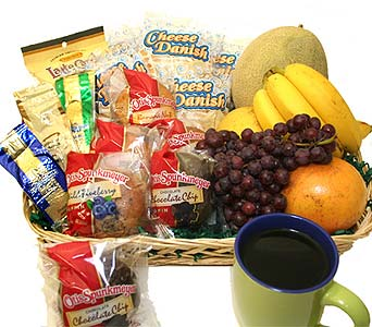 Breakfast Goodies and Fruit Tray in Birmingham AL, Norton's Florist