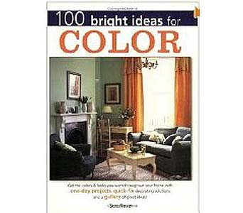 100 Bright Ideas for Color Paperback Book in Birmingham AL, Norton's Florist