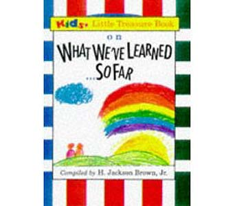 What We've Learned So Far Mini Hardcover Book in Birmingham AL, Norton's Florist