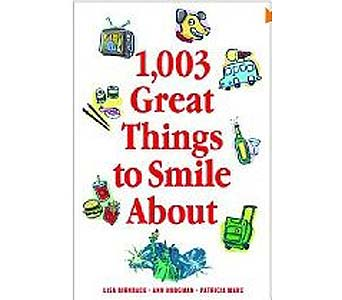 1003 Great Things to Smile About Paperback Book in Birmingham AL, Norton's Florist