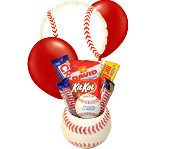 Baseball Candy Bouquet in Birmingham AL, Norton's Florist