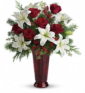 Holiday Magic in Fredericksburg TX, Blumenhandler Florist