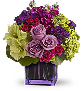 Dancing in the Rain Bouquet by Teleflora in North Olmsted OH, Kathy Wilhelmy Flowers