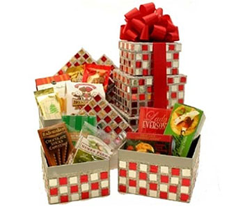 Gourmet Holiday Stack Box in Birmingham AL, Norton's Florist