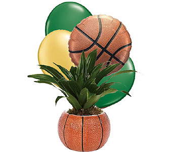 Basketball Planter in Birmingham AL, Norton's Florist