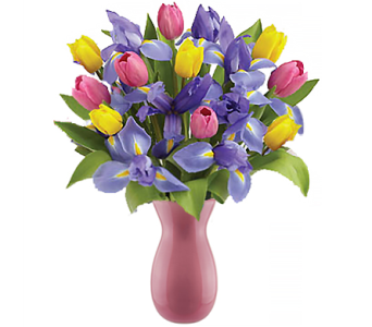 Spring Tulips and Iris Bouquet in Birmingham AL, Norton's Florist