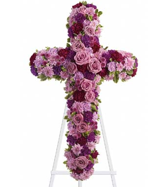 Deepest Faith Standing Cross in McLean VA, MyFlorist