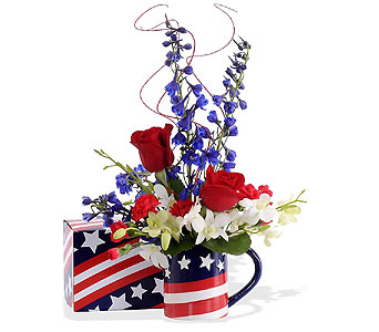 Stars & Stripes in St. Louis MO, Walter Knoll Florist